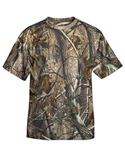 Tri-Mountain 122C Men Motum Camo Short Sleeve Crewneck Camoflage T-Shirt at GotApparel