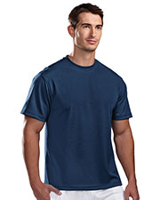 Tri-Mountain 122 Men Motum Poly Ultracool Pique Crewneck Short Sleeve Shirt at GotApparel