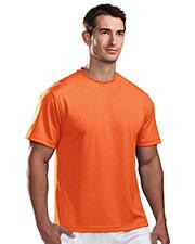 Tri-Mountain 122 Men Motum Poly Ultracool Pique Crewneck Short-Sleeve Shirt at GotApparel