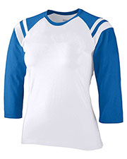 Augusta 1258 Women Fit Cotton/Spandex Legacy Tee at GotApparel
