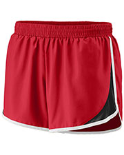 Augusta 1268 Girls Adrenaline Running Short With Drawcord at GotApparel