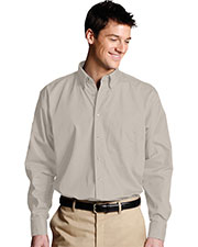 Edwards 1280 Men Poplin Long-Sleeve Shirt at GotApparel