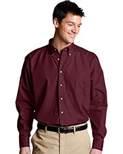 Edwards 1280 Men Poplin Long-Sleeve Shirt at GotApparel