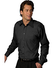 Edwards 1287 Men Poplin Long Sleeve Shirt at GotApparel