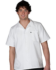 Edwards 1303 Unisex Short-Sleeve Cook Shirt at GotApparel