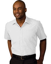 Edwards 1313 Men Short-Sleeve Value Broadcloth Shirt at GotApparel