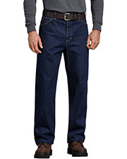 Dickies 13293 Unisex Relaxed Straight Fit 5-Pocket Denim Jean Pant at GotApparel