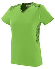 Augusta 1361 Girls Vigorous Short Sleeve V-Neck Jersey at GotApparel
