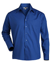 Edwards 1363 Men Long-Sleeve Broadcloth Shirt at GotApparel