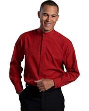 Edwards 1392 Men Batiste Banded Collar Shirt at GotApparel