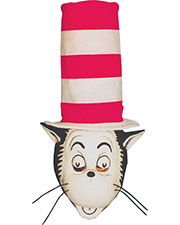 CAT IN THE HAT MASK W HAT at GotApparel