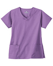 White Swan Brands 14364    Overlap V Neck Top at GotApparel