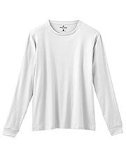 White Swan 14368 + S Long Sleeve Tshirt at GotApparel