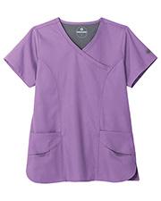 Fundamentals 14371 Women F3 Modern Wrap 5 Pocket Top at GotApparel