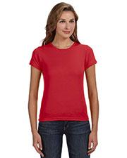 Anvil 1441 Women 1x1 Baby Rib Scoop T-Shirt at GotApparel