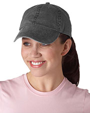 Anvil 145 Unisex Solid Lowprofile Pigment-Dyed Cap at GotApparel