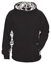 Badger 1464  Digital Color Block Performance Hoodie at GotApparel
