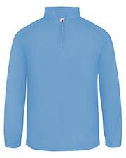 Badger 1480 Men 1/4-Zip Poly Fleece Pullover at GotApparel