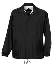 Tri-Mountain 1500 Men Coach Taffeta Nylon Coach's Jacket With Flannel Lining at GotApparel