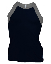 Soffe 1504G  High Neck Track Tank at GotApparel