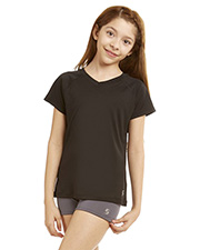 Soffe 1505G  Grls Performance V Tee at GotApparel