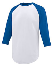 Augusta 1506 Boys Nova Baseball Long Sleeve Jersey at GotApparel