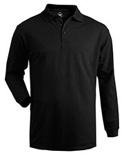 Edwards 1515 Men Soft Touch Blended Pique Long Sleeve Polo at GotApparel