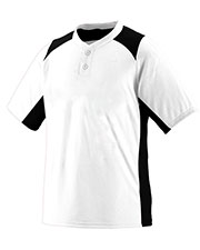 Augusta 1520 Men Gamer Baseball Short Sleeve Jersey at GotApparel