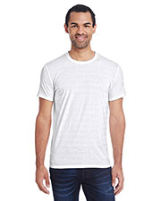 Threadfast Apparel 152A Men 4.2 oz Invisible Stripe Short-Sleeve T-Shirt at GotApparel