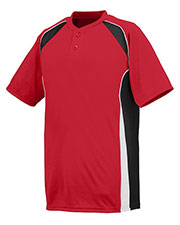 Augusta 1540 Men Base Hit Baseball Short Sleeve Jersey at GotApparel