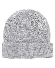 Yupoong 1545K Ribbed Cuffed Knit Beanie at GotApparel