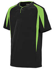 Augusta 1546 Boys Flyball Baseball Short Sleeve Jersey at GotApparel