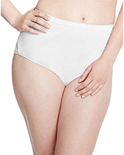 Just My Size 1610P8 Women Cotton TAGLESS Brief Panties 8Pack at GotApparel
