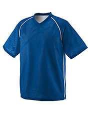 Augusta 1615 Men Verge Reversible Short Sleeve V-Neck Jersey at GotApparel