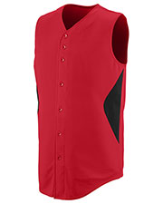 Augusta 1653 Boys Sleeveless Wheel House Jersey at GotApparel