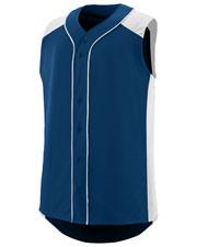 Augusta 1662 Men Sleeveless Slugger Jersey at GotApparel