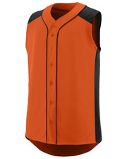 Augusta 1663 Boys Sleeveless Slugger Jersey at GotApparel