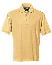 Tri-Mountain 168 Men Signature Cotton Pique Short-Sleeve Golf Shirt at GotApparel