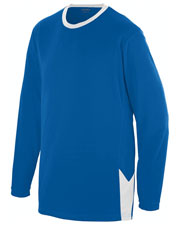 Augusta 1718 Boys Block Out Long Sleeve Jersey at GotApparel