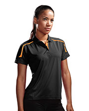 TRI-MOUNTAIN PERFORMANCE 171 Women Titan- UltraCoolKnit Polo Shirt With Rib Collar at GotApparel