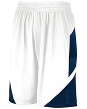 Augusta 1734 Boys Youth Step-Back Basketball Shorts at GotApparel