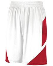 Augusta 1734 Boys Youth Step-Back Basketball Shorts at GotApparel