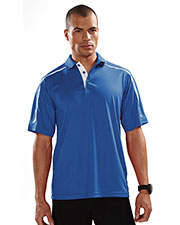 TM Performance 174 Men's Titan Ultracool Short-Sleeve Knit Polo Shirt at GotApparel