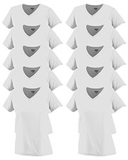 Augusta 1790 Women Moisture-Wicking V-Neck T-Shirt 10-Pack at GotApparel
