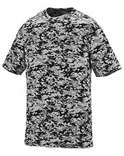 Augusta 1798 Adult Digi Camo Wicking Short Sleeve T-Shirt at GotApparel