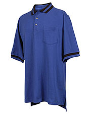 Tri-Mountain 179 Men Teammate Pique Pocketed Short Sleeve Golf Shirt With Trim at GotApparel