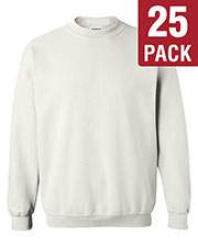 Gildan G180 Men Heavy Blend 8 Oz. 50/50 Fleece Crew 25-Pack at GotApparel