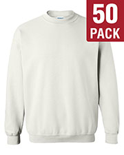 Gildan G180 Men Heavy Blend 8 Oz. 50/50 Fleece Crew 50-Pack at GotApparel