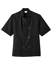 Five Star Mens 18001 Short Sleeve Chef Jacket at GotApparel