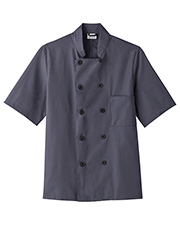 Five Star Unisex 18025 Short Sleeve Chef Jacket In Colors at GotApparel